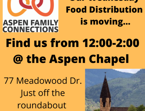 AFC Food Distribution moves to the Aspen Chapel